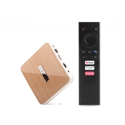 MECOOL ATV KM6 Deluxe 4/64GB Amlogic S905X4 Google Certified 4K Android TV Box