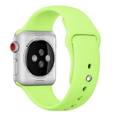 TECH-PROTECT SMOOTHBAND FOR APPLE WATCH (42/44MM) – GREEN