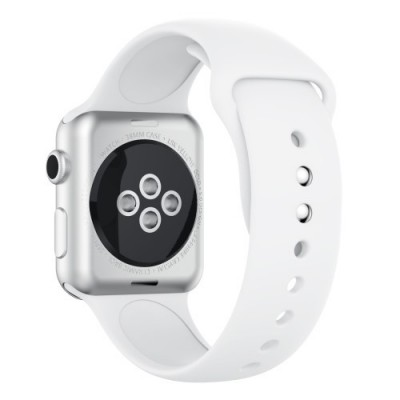 TECH-PROTECT SMOOTHBAND FOR APPLE WATCH (42/44MM) – WHITE