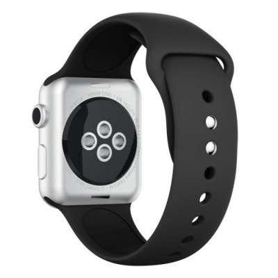 TECH-PROTECT SMOOTHBAND FOR APPLE WATCH (42/44MM) – BLACK