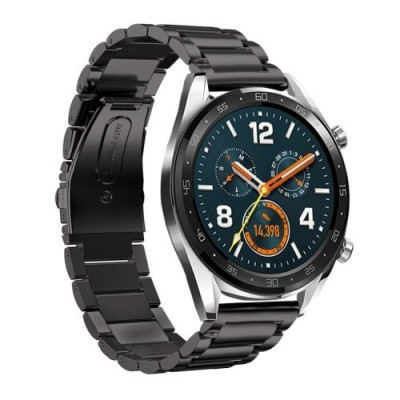 ΑΝΤΑΛΛΑΚΤΙΚΟ ΛΟΥΡΑΚΙ QUICKFIT TECH-PROTECT HUAWEI WATCH GT/GT2 STAINLESS – BLACK