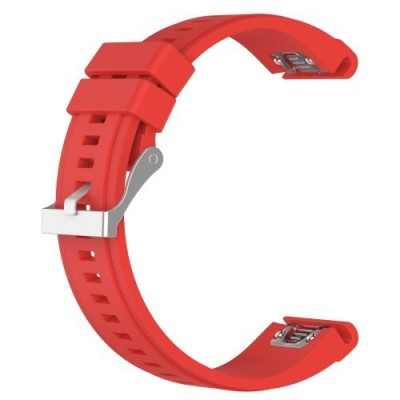 SENSO REPLACEMENT BAND FOR GARMIN FENIX 6X/6X Pro/5X / 5X PLUS / 3 / 3 HR - RED
