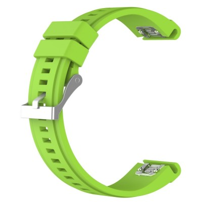 SENSO REPLACEMENT BAND FOR GARMIN FENIX 6X/6X Pro/5X / 5X PLUS / 3 / 3 HR - LIME