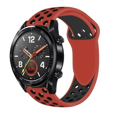 ΑΝΤΑΛΛΑΚΤΙΚΟ ΛΟΥΡΑΚΙ QUICKFIT TECH-PROTECT HUAWEI WATCH GT/GT2 SOFTBAND – RED/BLACK