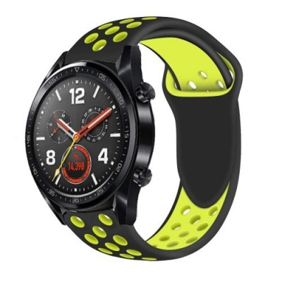 ΑΝΤΑΛΛΑΚΤΙΚΟ ΛΟΥΡΑΚΙ QUICKFIT TECH-PROTECT HUAWEI WATCH GT/GT2 SOFTBAND – BLACK/YELLOW