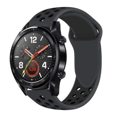 ΑΝΤΑΛΛΑΚΤΙΚΟ ΛΟΥΡΑΚΙ QUICKFIT TECH-PROTECT HUAWEI WATCH GT/GT2 SOFTBAND – ALL BLACK