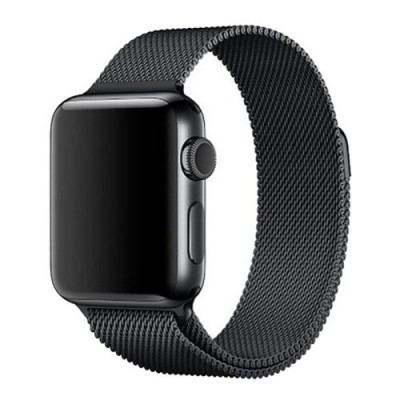 TECK PROTECT MILANESE LOOP APPLE WATCH 42/44MM – BLACK