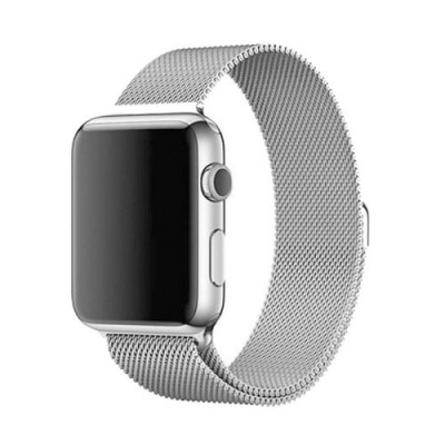 TECK PROTECT MILANESE LOOP APPLE WATCH 42/44MM – SILVER
