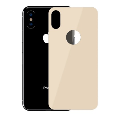 ΤΖΑΜΙ ΠΛΑΤΗΣ BASEUS 0.3MM FULL COVERAGE ΓΙΑ IPHONE X/XS – GOLD