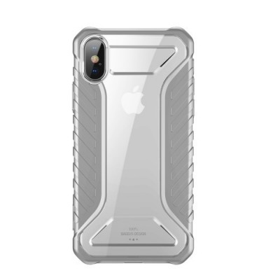 ΘΗΚΗ BASEUS MICHELIN SERIES ΓΙΑ IPHONE XS MAX – GRAY (WIAPIPH65-MK0G)