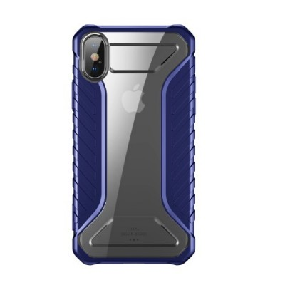 ΘΗΚΗ BASEUS MICHELIN SERIES ΓΙΑ IPHONE X/XS – BLUE