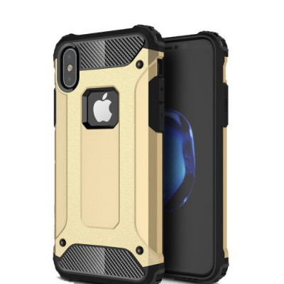 ΘΗΚΗ ARMOR GUARD COVER ΓΙΑ IPHONE X/XS - ΧΡΥΣΟ