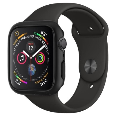 SPIGEN THIN FIT APPLE WATCH SERIES 4/5 (44MM) CASE – BLACK ( 062CS24474 )
