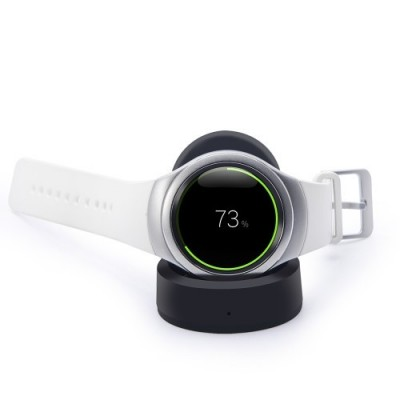 Βάση Φόρτισης Wireless Charger Samsung Gear S3 Classic R770 / Gear S3 Frontier R760 Black ΟΕΜ