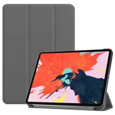 ΘΗΚΗ TRI-FOLD STAND SMART PU LEATHER PROTECTION CASE FOR IPAD PRO 12.9-INCH (2018) – GREY