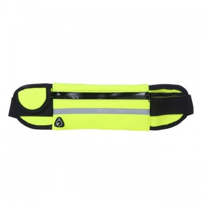 Ultimate Running Belt with bottle holder and headphone outlet - Green