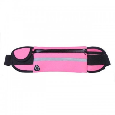 Ultimate Running Belt with bottle holder and headphone outlet - Rose