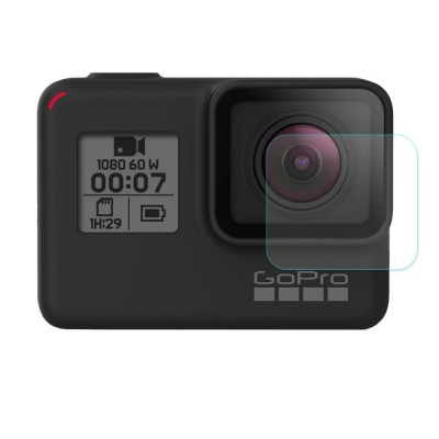 TEMPERED GLASS 0.2MM 9H 2.15D FOR GOPRO LENS HERO5 / HERO6/ HERO7 OEM