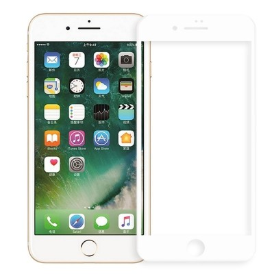 TEMPERED GLASS FULL COVER ΓΙΑ IPHONE 7/8 – WHITE-ΟΕM 3D