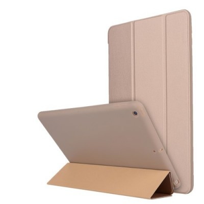 Θήκη Tri-fold Leather Stand Case για iPad mini (2019) 7.9 inch - Χρυσή