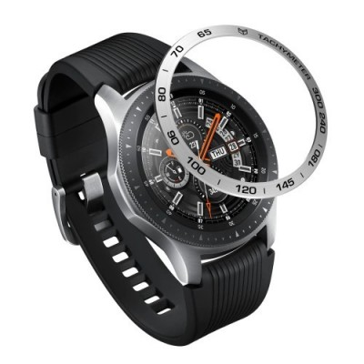 Προστατευτικό Bezel Styling Samsung Galaxy Watch (46mm)/Gear S3 - Aluminium Silver