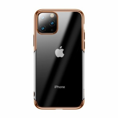 BASEUS Shining Series Plated TPU Case for iPhone 11 Pro (2019) - Gold  (ARAPIPH58S-MD0V)