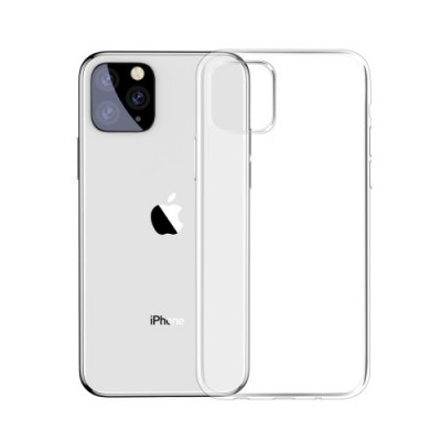 BASEUS Simple Series Clear Germany Bayer TPU Case for iPhone 11 Pro (2019) - Transparent (ARAPIPH58S-02)