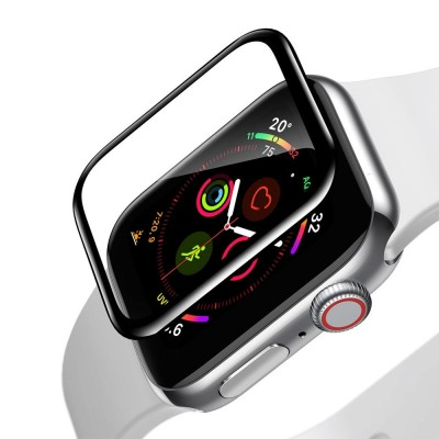 Baseus 0.2mm Full-screen Curved Screen Protector for Apple Watch 4/5 44mm (SGAPWA4-H01)