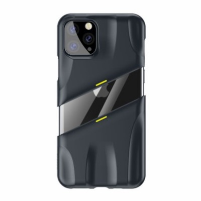 BASEUS Let's go Series (PC+ Metal Sheet + Graphene Airflow) Case for iPhone 11 (2019) - Grey (WIAPIPH61S-GMGY)