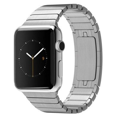 Strap Elegant Link Bracelet for Apple Watch 44mm - Silver (6938595325121)