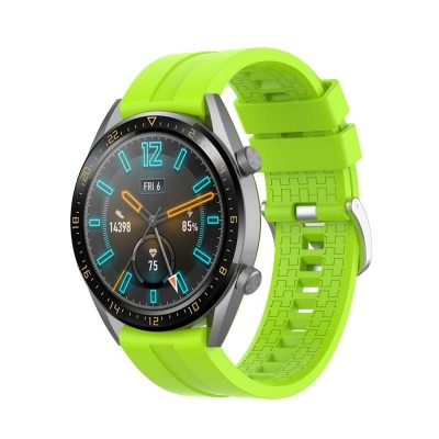 ΑΝΤΑΛΛΑΚΤΙΚΟ ΛΟΥΡΑΚΙ QUICKFIT TECH-PROTECT SMOOTHBAND HUAWEI WATCH GT/GT2 – LIME