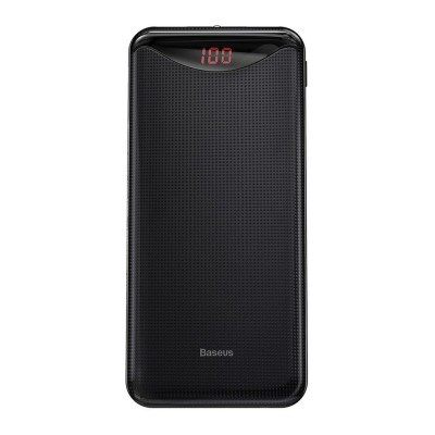 Baseus Gentleman Power Bank 10000mAh 2x USB 2.1A - Black (PPLN-A01)