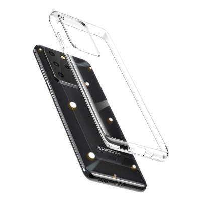 BASEUS Simple Series Clear TPU Case for Samsung Galaxy S20 Plus- Transparent (ARSAS20P-02)