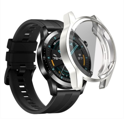 Θήκη TPU Cover Huawei Watch GT 2 (46MM) Full Around - Silver