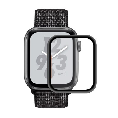 ENKAY Hat-Prince 0.2mm 9H Full Screen Glass for Apple Watch Series 4/5 44mm - Black