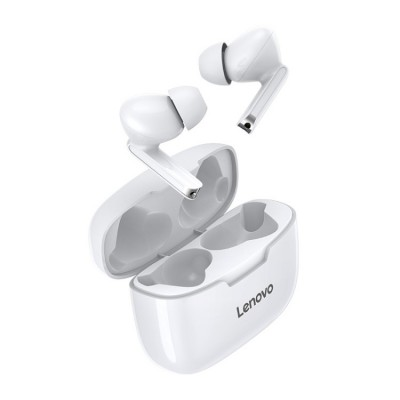 Lenovo XT90 Touch Wireless Bluetooth 5.0 Earphone with Charging Box - White