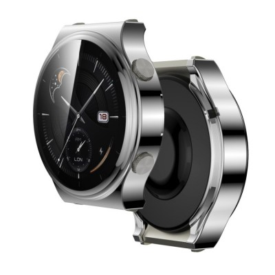 Θήκη TPU Cover Huawei Watch GT 2 PRO (46MM) Full COVER - Silver