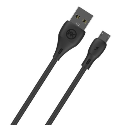 WK WDC-072 1m 2.1A USB to Micro Usb - Black